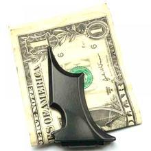 Мужской тонкий держатель из нержавеющей стали с летучей мышью для ID наличных денег, магнитный держатель для ID, кошелек для мужчин и женщин