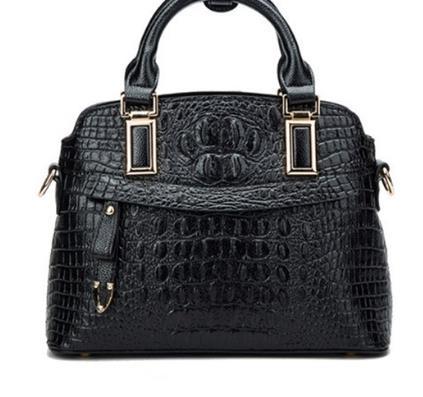 2019 Design Genuine Leather Women Casual Tote Bag Large Capacity Business Bag Alligator Shoulder Bags.2019 Design Genuine Leather Women Casual Tote Bag Large Capacity Business Bag Alligator Shoulder Bags.