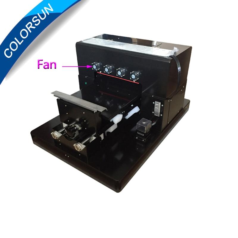 A3 УФ принтер тиснением машина Принтер изображение A3 Размер белыми чернилами планшетный печатная машина для металла/Plastc case