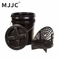 MJJC Brand With 2017 High Quality Detailing Kit 5 Gallon Bucket Grit Guard Wash Board And