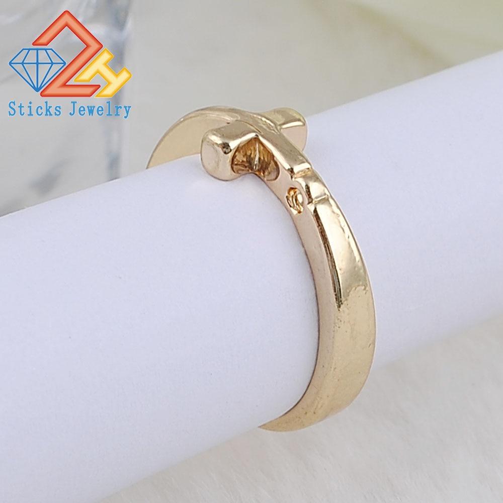 (1piece / lot) Cross Alloy Ring