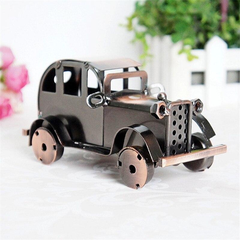 Handmade ford metal car model craft simulation alloy tin