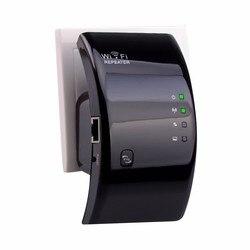 Ampliador inalámbrico Wi-fi repetidor WiFi de 300Mbps potenciadores de señal de rango amplificador de red 802.11n/b/g extensor wifi para el hogar