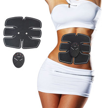 купить Wireless Muscle Stimulator EMS Stimulation Body Slimming Beauty Machine Abdominal Muscle Exerciser Training Device Body Massager онлайн