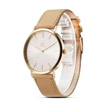 Shengke Brand New Fashion Simple Style Top Famous Luxury Brand Quartz Watch Women Casual Leather Watches Reloj Mujer Hot Clock