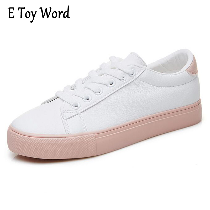 E TOY WORD fashion brand women casual shoes leather moccasin platform lady shoes white tenis feminino casual chaussure femme e toy word canvas shoes women han edition 2017 spring cowboy increased thick soles casual shoes female side zip jeans blue 35 40