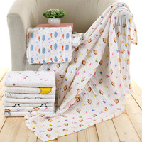 Newbron Baby Muslin Swaddle Blankets Wrap Diaper 100 Organic Cotton Unisex Soft Baby Blanket For Sleep
