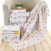 Newbron Baby Muslin Swaddle Blankets Wrap Diaper 100 Organic Cotton Unisex Soft Baby Blanket For Sleep