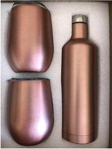 Image 5 - Seti şarap şişesi Büyük Şişesi Hediye Kutusu Arkadaş ve Müşteri şarap kadehi Bira Kırmızı Şarap Bardağı şaşırtıcı LOGO özelleştirilmiş