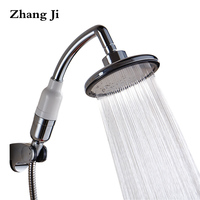 Multi Fuction Big Handheld Shower Head 5 7 Inch Pressure Boost Waterfall Showerheads Water Quality Purification