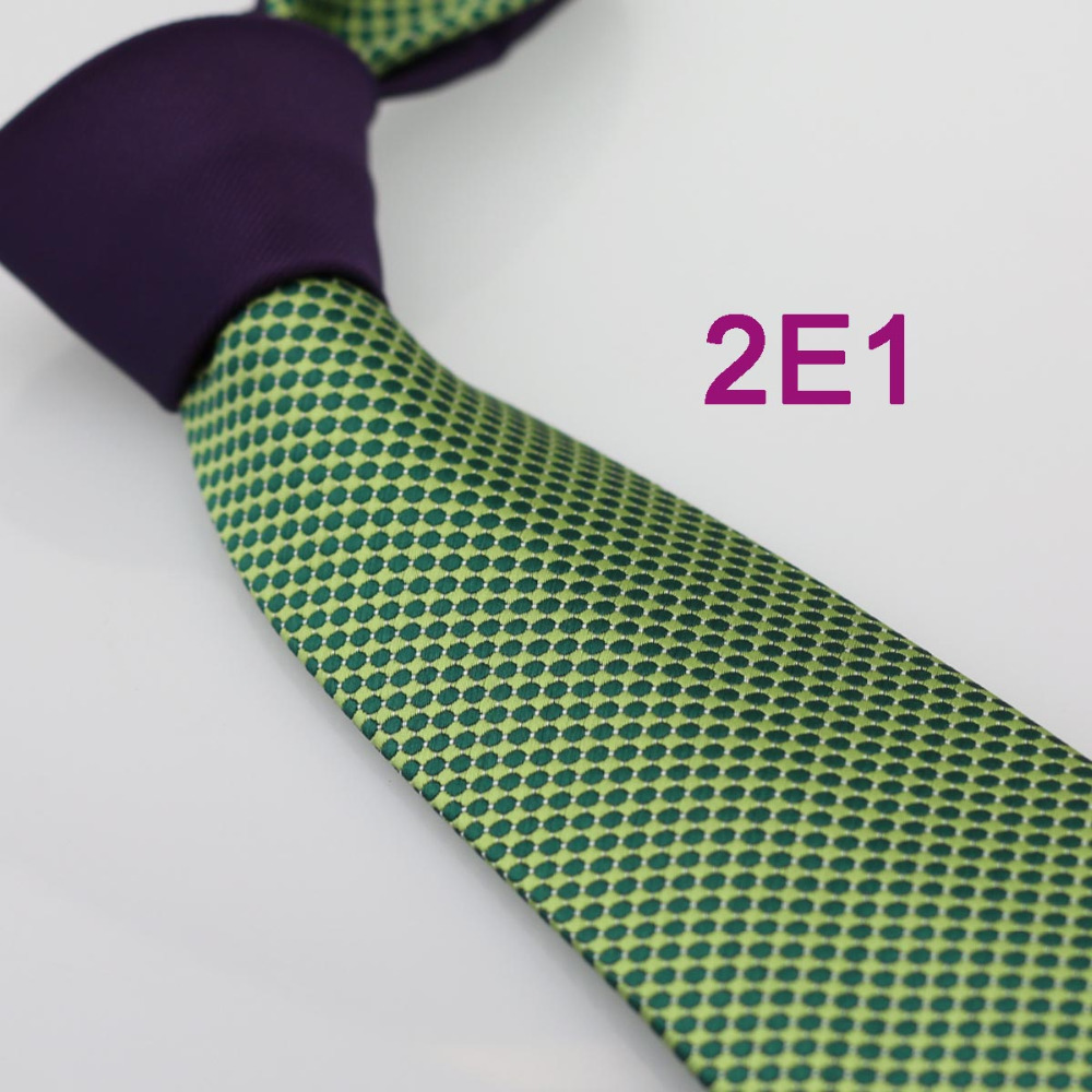 coachella men s ties 2015 new design purple knot green spots dots