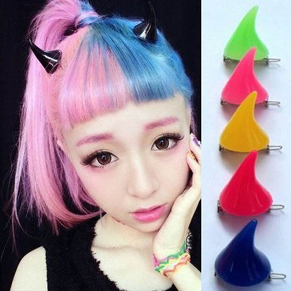 Nice 1 Pair Halloween Devil Horns Hair Clip Darling In The Franxx Cosplay Accessorise Unisex Lovely Headwear Stage Show Dress Up Kids Costumes & Accessories Costumes & Accessories