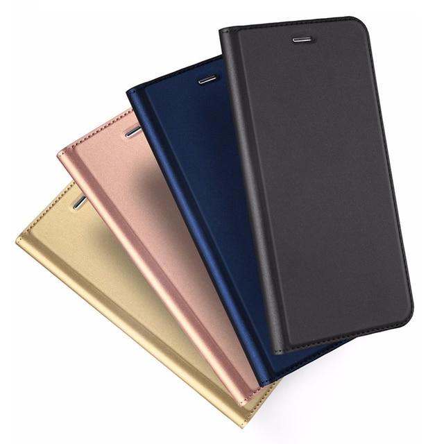 db0a5cbf0e810 Klapki Skórzane Etui Dla iPhone 6 Case 6 s Plus 7 Luksusowe Pokrywa Portfel  Case Dla