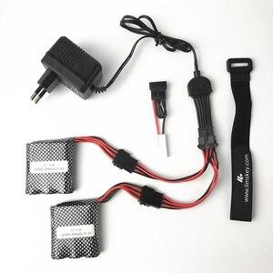 JYRC 9115 9116 S911 S912 RC запчасти для обновления автомобиля двойной кабель батареи новая батарея 9,6 V 800mah батарея