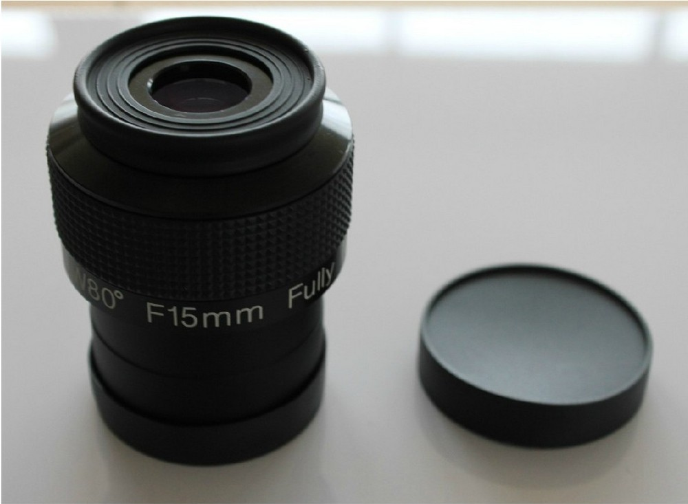 New 2 inch Multi-coated F15mm Untra Wide Angle 80 Degree 2