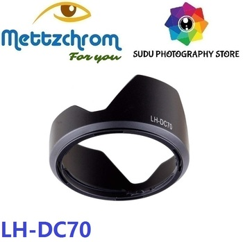 LH-DC70 Lens Hood Tulip Flower Shade For Canon PowerShot G1 X G1X image