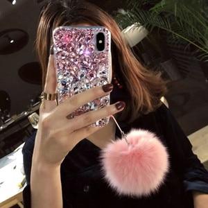 Image 2 - Чехол для телефона Huawei P8 P9 P10 P20 P30 P40 PLUS Lite Mate10 20 30 Pro Lite с ремешком из страз