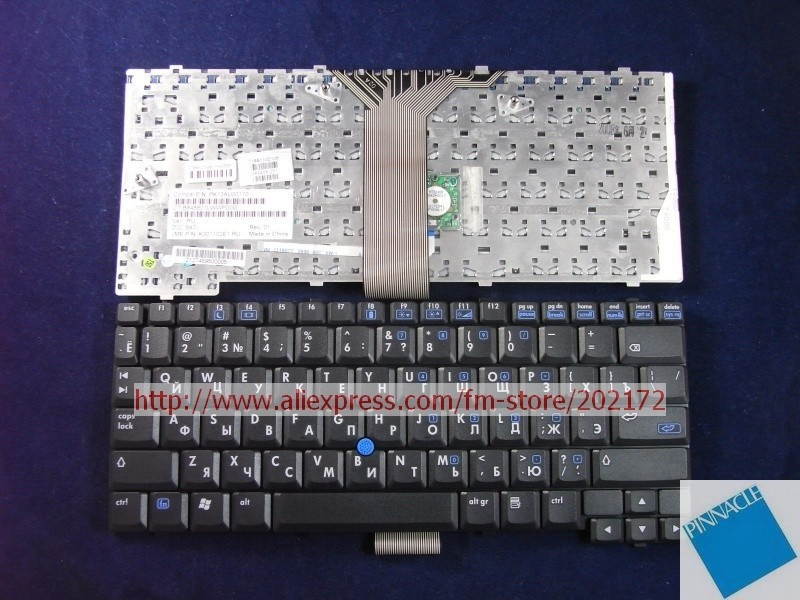 Brand New Black Laptop  Notebook Keyboard 383458-251  PK13AU00170 For HP Compaq  NC4200 TC4200 series(Russia)100% compatiable us laptop keyboard for sony vpc ya serials black black frame gr german 9z n5usw 20g a1803980a