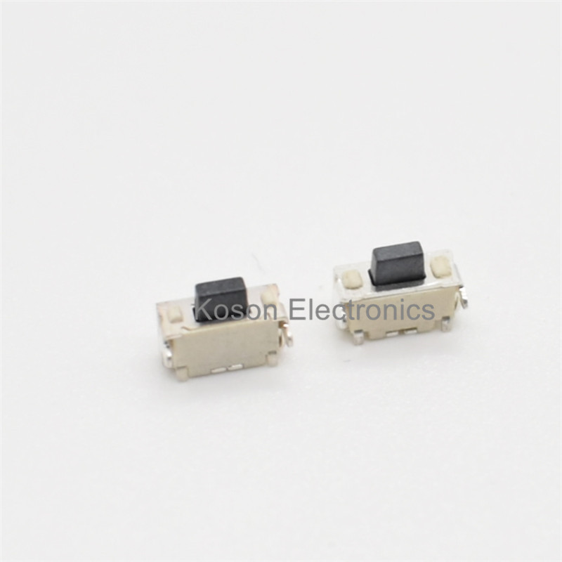 10Pcs Touch micro switch With Bracket 2*4*3.5MM Side Button Push Button Switch 2x4x3.5