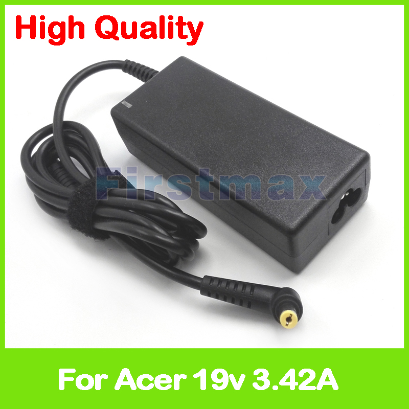 65W 19V 3.42A AC power adapter supply for <font><b>Acer</b></font> Aspire 3830 3935 S3-371 S3 TimelineX 3830T <font><b>TravelMate</b></font> <font><b>8372</b></font> P663-M charger image