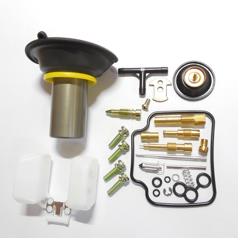 (mest komplett konfiguration och fri frakt) 24MM plunger PD26J Carburetor Reparation Rebuild Kit GY6-150CC ATV Gokart Moped Scooter