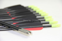 Longbowmaker 12PCS 33 Inches Fiberglass Target Practice Arrows F2RBT1