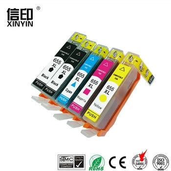 XColor hp 655 hp 655 hp655xl 655xl cartucho de tinta compatible para hp Deskjet serie 3525/4615/4625/5525/6520 impresora con chip