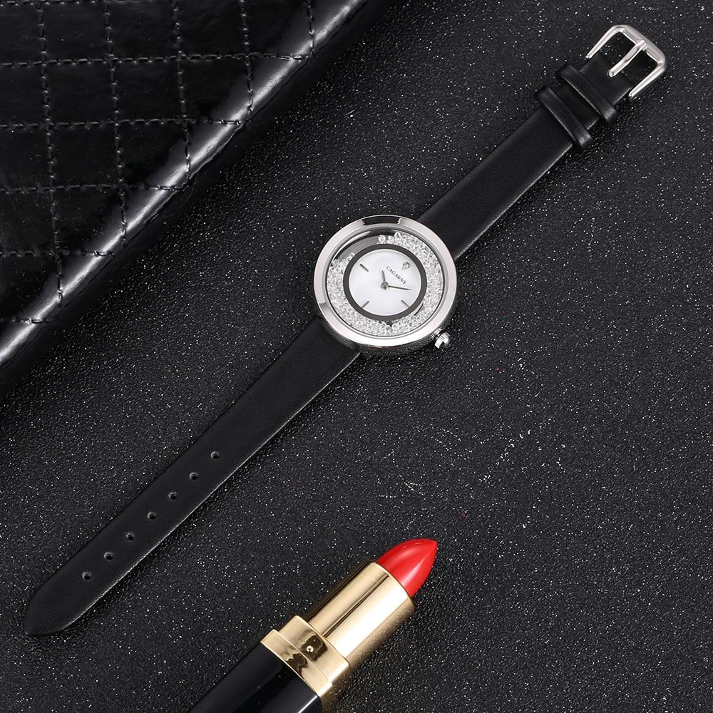 Super Slim Sliver case vogue leather strap Watches Women Top Brand Luxury Casual Clock Ladies Wrist Watch Lady Relogio Feminino (9)