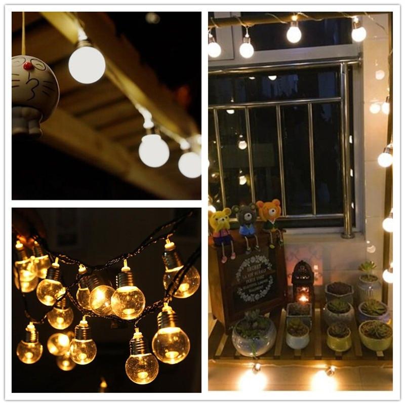 5M 5cm stor glödlampa Led hänglampa glödlampa ljussträng ljus med - Festlig belysning - Foto 5