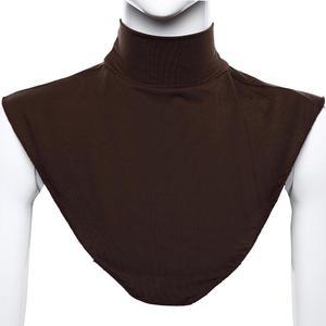 Image 5 - Женский модал, искусственный воротник, хиджаб, мусульманский воротник, обложка на шею, петля, шарф, воротник водолазка, одежда