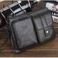 Małe torby na laptopa z prawdziwej skóry dla mężczyzn torba na ramię crossbody męski telefon sprzęgła saszetka do paska saszetki na pas człowiek torebka kieszeń 2018