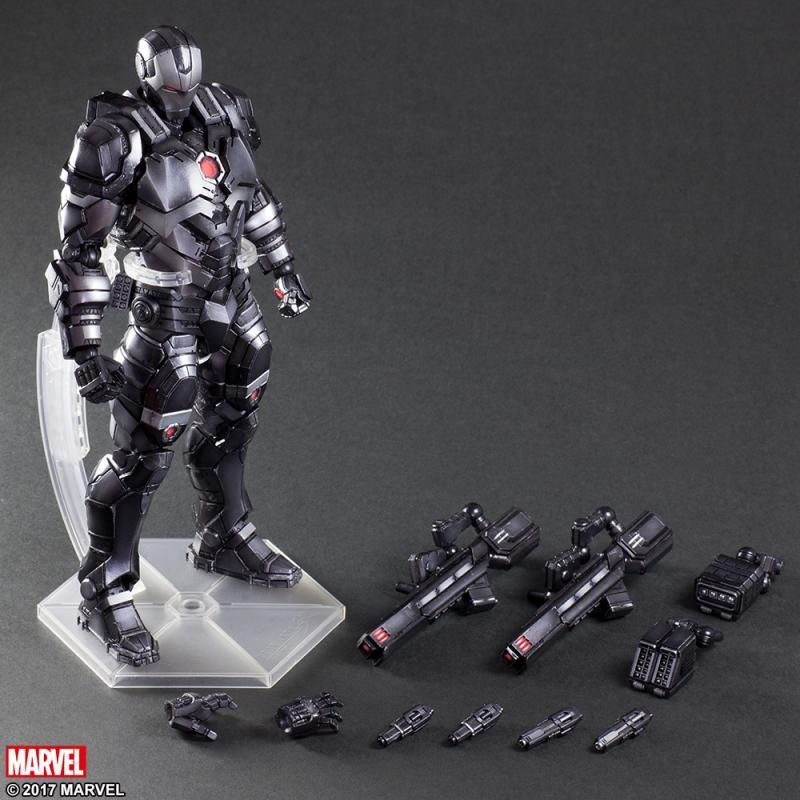 Square Enix PlayArts Kai Marvel The Avengers Super Hero Iron Man Tony Stark War Machine 11