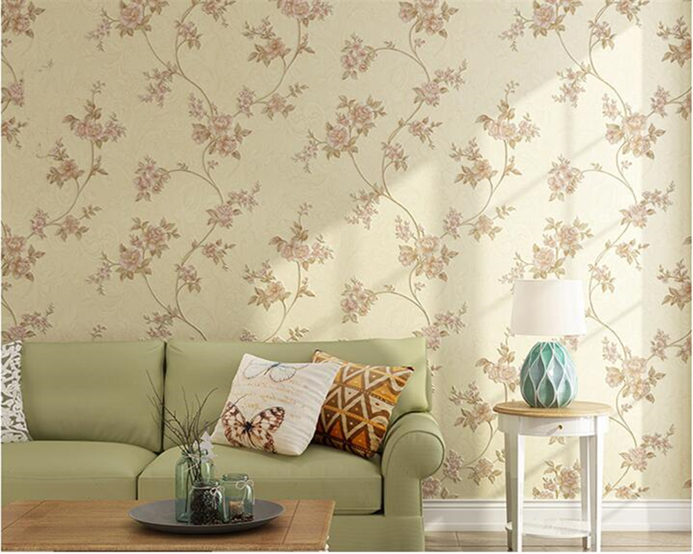 beibehang American style rural pastoral wall paper 3D stereoscopic relief nonwoven fashion living room background 3d wallpaper beibehang fashion modern 3d relief