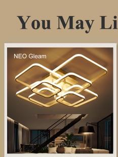 NEO Gleam RC Modern Led ceiling lights for living room bedroom study room ceiling lamp plafondlamp White Color AC 110V 220V