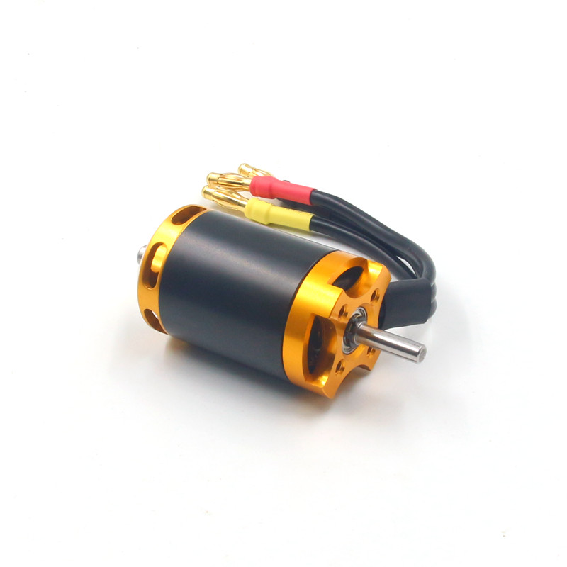 70mm EDF motor 2848 3500KV brushless 3-4s for electric duct fan rc boat