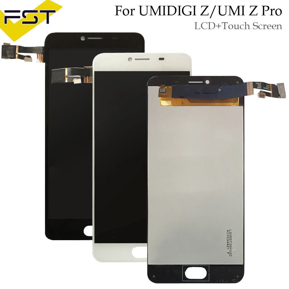 Für Umidigi UMI Z/Z PRO LCD Display + Touchscreen 100% Getestet LCD Digitizer Glasscheibe Ersatz + werkzeuge + adhesive