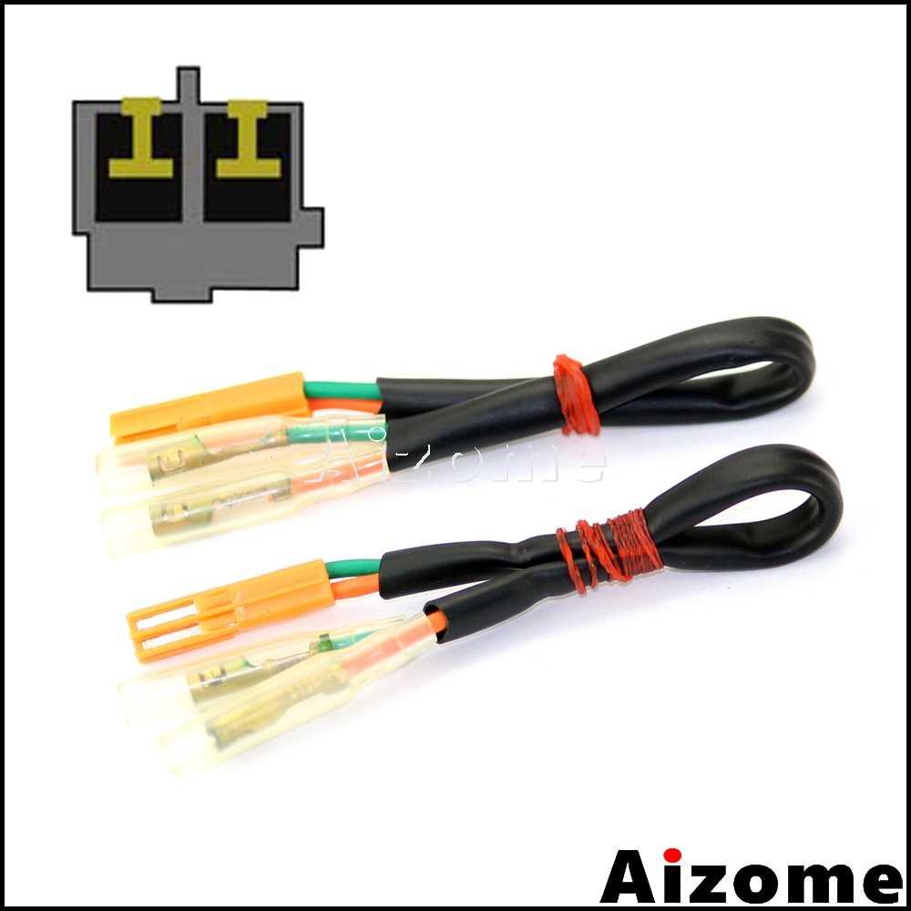 motorcycle rear turn signals adapters wiring harness connectors for honda cbr600rr cbr1000rr cb650f cb500f cb500x cbr500r  [ 1000 x 1000 Pixel ]