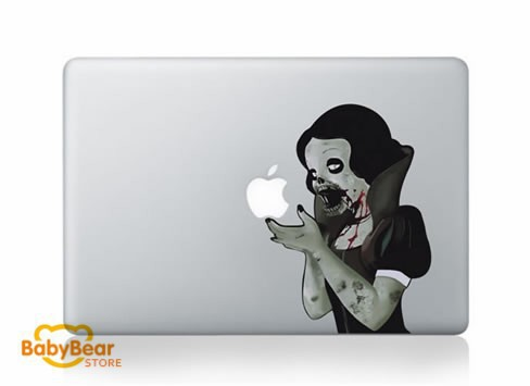 Zombie for macbook decal sticker partial cover for macbook pro 13 retina