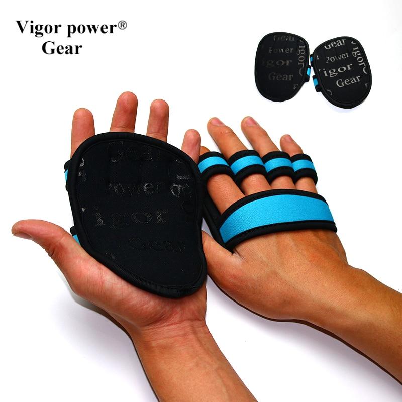 Gym Workout Hand Gloves: VigorPowerGear Crossfit Weight Lifting Grip Hand Gloves