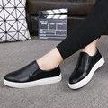 Women Genuine Leather Loafers Slipon Slipony Women Shoes Female Loafers Light Casual Krasovki Boty Obuv Footwear Ys 2016 h-048