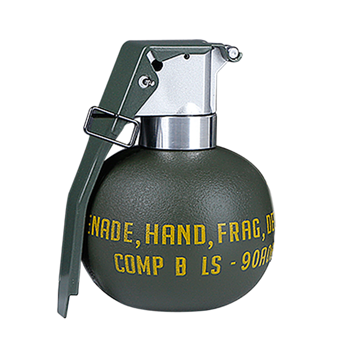WST Tactical Bomb M67 Model Toy For MOLL System - Olive Drab