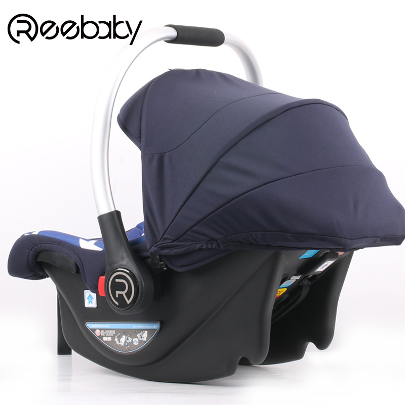 REEBABY baby basket safety seat child car cradle 0-1  authentic free ship brand new safe neonatal basket style car seat infants handle basket seat newborn babies car safety seats free shipping