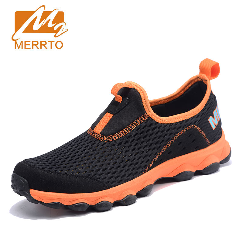2017 MERRTO Walking Shoes Man Athletic Breathable Air Mesh Sneakers Male Outdoor Sport Climbing Shoes OIutdoor Trekking Shoes 2017 mens running shoes breathable male outdoor walking sport shoes new man athletic sport sneakers for adults