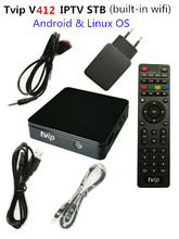 Tvip v.412 box iptv set top box with promotion price(China)