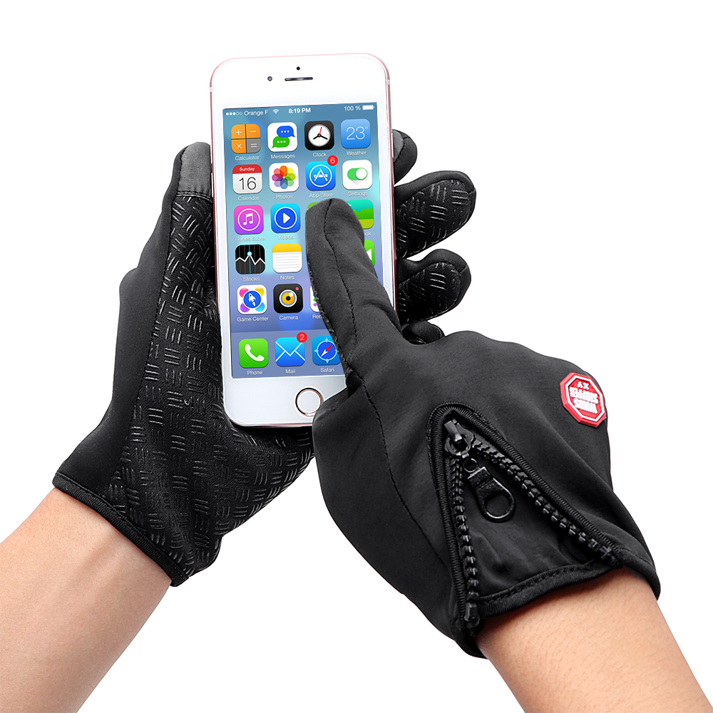 New Motorcycle Windproof Winter Gloves Warm Touch Screen Gloves Outdoor Sports Snowboard Skiing Gloves Bike Cycling Gloves