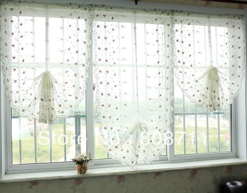 Aliexpress.com : Buy 20%OFF Custom Made High Quality Curtains, Draw String  Embroidered Retractable Curtains, Lovely Lace Curtain (Width: 65cm) From  Reliable ...