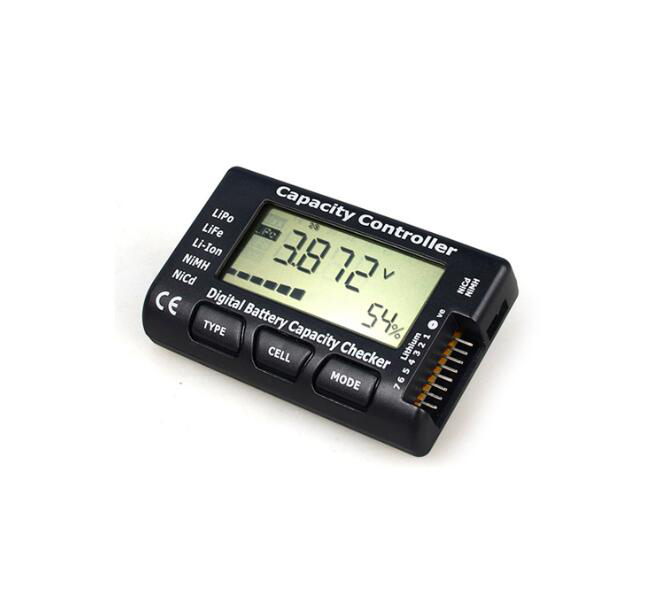 Lipo Life Li-ion NiMH Nicd Digital battery capacity checker cellmeter 7 1-7s prcision voltage meter with LCD display