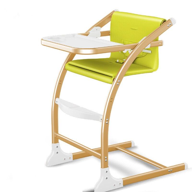 4 en 1 bébé nourrir chaise, mode bébé à manger chaise avec ajuster la hauteur du siège, peut changer à bébé chaise berçante, stable chaise haute