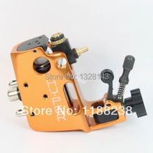 High quality Professional Orange Swiss Motor tattoo gun Stigma Hyper V3 Rotary Tattoo Machine Liner& Shader Top Free shipping