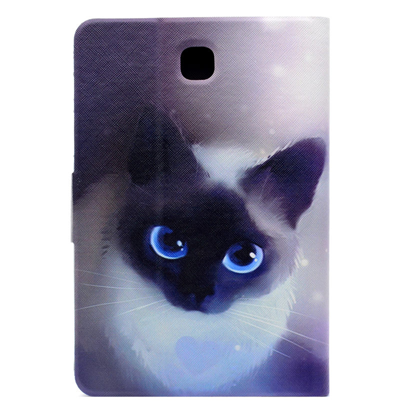 SM-T355 Case For Samsung Galaxy Tab A 8.0 Inch T350 T355 P350 Cover Smart Case Funda Fashion Dog Animal PU Leather Stand Shell